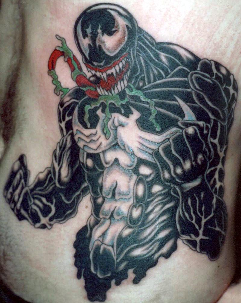 Venom Tattoo Designs: Gallery « NightWind Tattoo