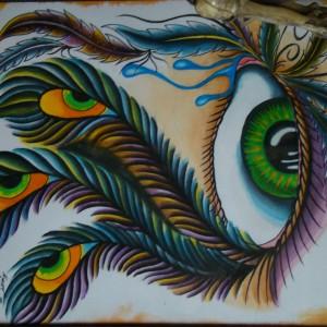 NightWind Tattoo Flash Eye